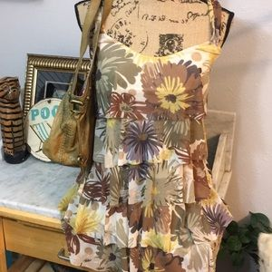 Gorgeous Weston Wear Anthro Store Bought Floral S!